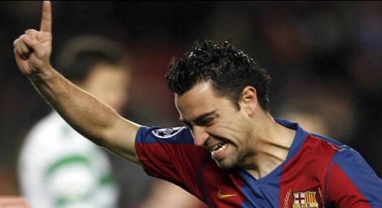 Xavi, véritable métronome du FC Barcelone