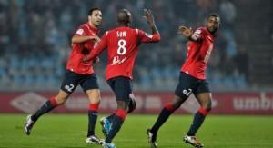 Moussa Sow, l'artilleur numéro 1 de Lille cette saison